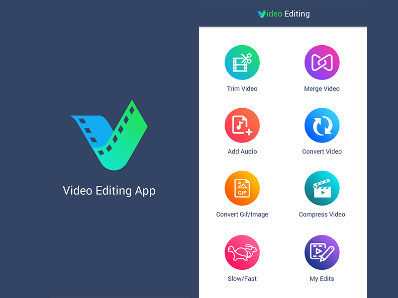 videoediting app portfolio big