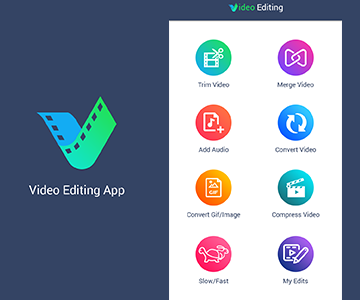 videoediting app portfolio small