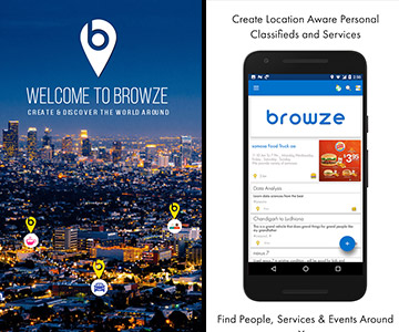 browze.co app portfolio small