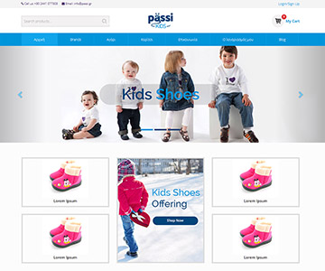 passi website portfolio small