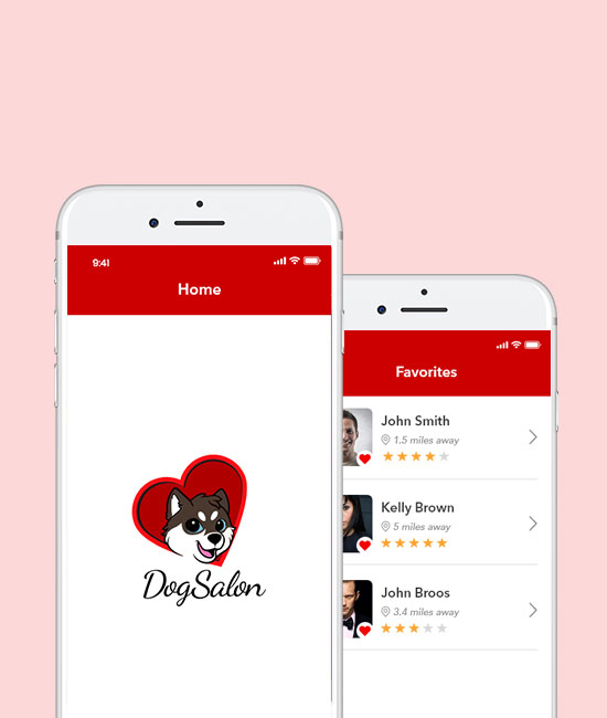 Dog Salon App