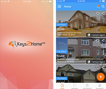 keys2home app portfolio small
